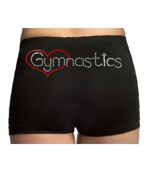 Short coeur Gymnastics