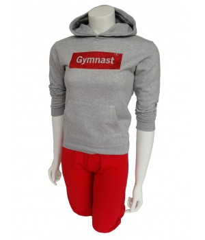 SWEAT CAPUCHE GYMNAST PAILLETTE