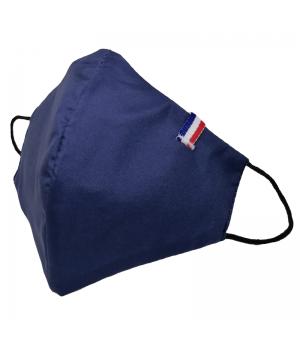 Masque Navy cocarde bleu...