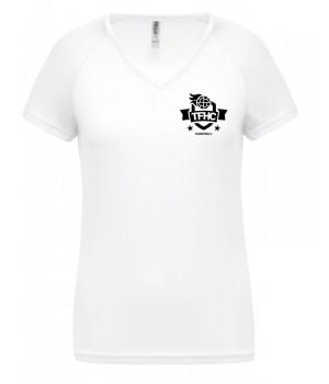 Tee-shirt col V femme TFHC