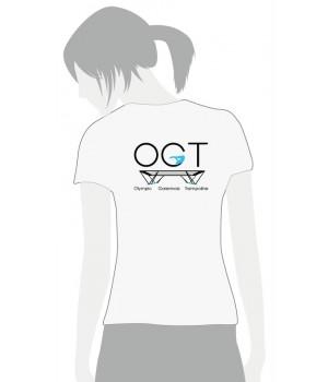 T-Shirt Femme Olymipc Garennois Trampoline