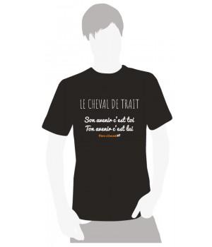 Tee-shirt Faire à Cheval