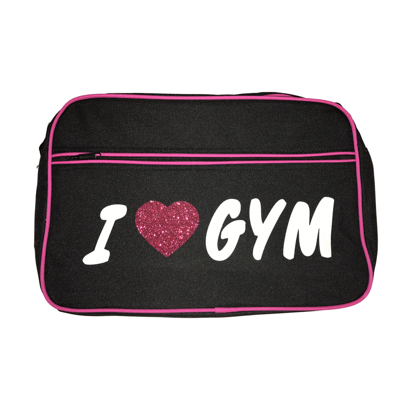 Sac Retro I LOVE GYM