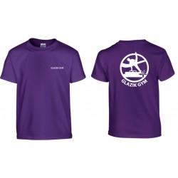 Tee-shirt Violet GLAZIK GYM