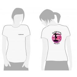 Tee-shirt blanc GLAZIK GYM