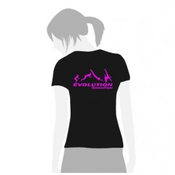 Tee Shirt Evolution Gym fille (GAF)