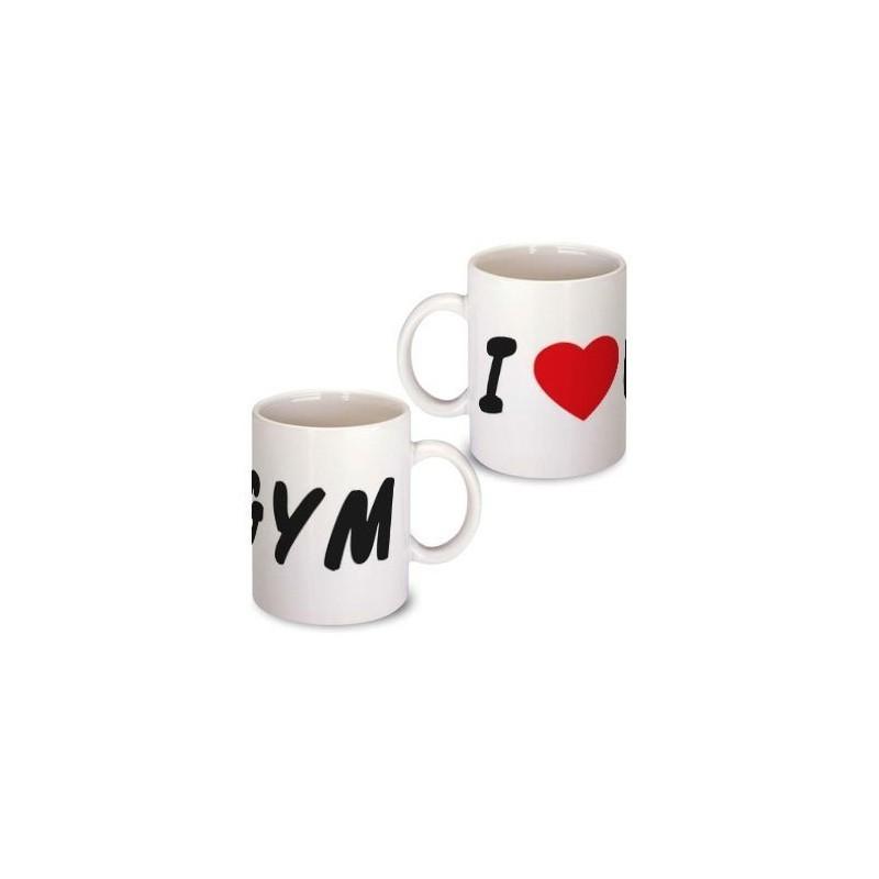 Mug I LOVE GYM