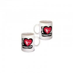 Mug I LOVE GYM Figurine